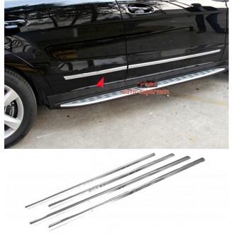 BMW X3 E83 - Chrom Zierleisten Türleisten