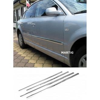 Skoda OCTAVIA I, II HB - Chrome side door trim