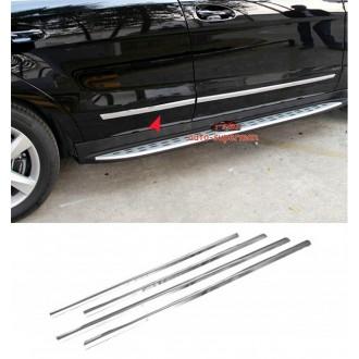 Hyundai i30 II - Listwy CHROM Ozdobne Boczne Drzwi