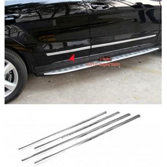 Hyundai Accent 3d - Chrom Zierleisten Türleisten