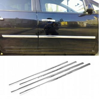 MAZDA 2 II 07 - Chrome side door trim