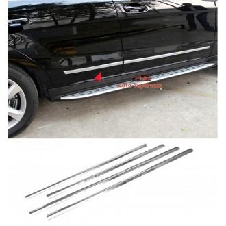 Nissan Note II 13 - Chrom Zierleisten Türleisten