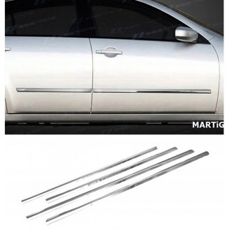 FORD FIESTA VI - Chrome side door trim