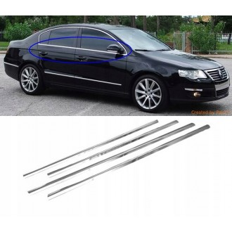 VW PASSAT B6 Sedan - Chrome side door trim
