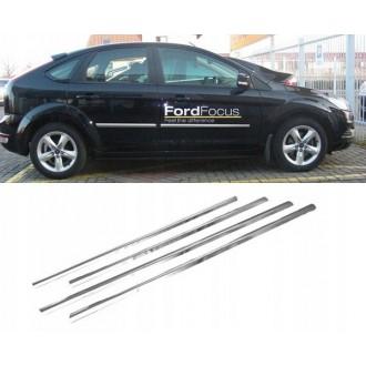 FORD FOCUS II HB Sedan - Chrom Zierleisten Türleisten