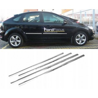 FORD FOCUS II HB Sedan- Chrome side door trim