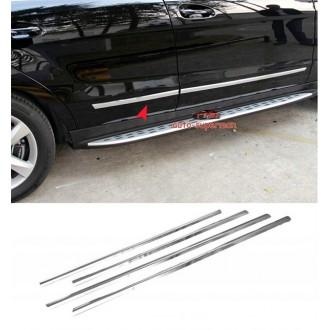 Hyundai i10 5d - Chrom Zierleisten Türleisten