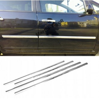 Chevrolet CRUZE HB - Chrom Zierleisten Türleisten