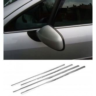 Skoda SUPERB II - Chrome side door trim