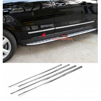Hyundai i30 II - Listwy CHROM Boczne Ozdobne Drzwi