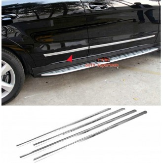Ssangyong REXTON 06-10 - Chrome side door trim