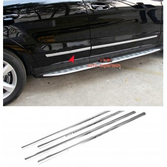 Nissan QASHQAI II 13 - Chrome side door trim