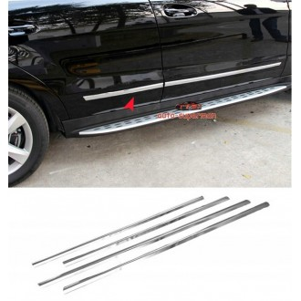 Kia Cee'd II HB - Chrome side door trim