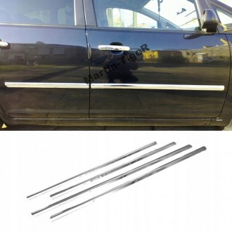 Chevrolet Aveo III T300 - Chrome side door trim