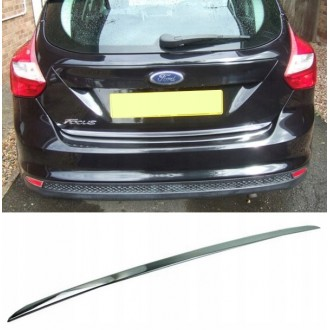 FORD FOCUS MK III - CHROME Rear Strip Trunk Tuning Lid 3M Boot