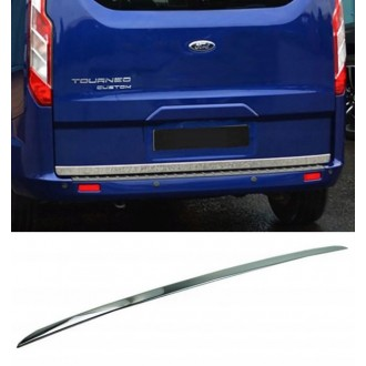 Ford Tourneo Custom - CHROME Rear Strip Trunk Tuning Lid 3M Boot