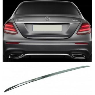 Mercedes E Klasa W213 - CHROME Rear Strip Trunk Tuning Lid 3M Boot