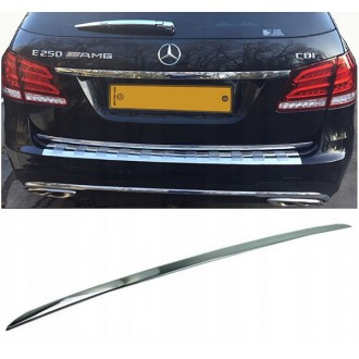 Mercedes E Klasa S212 - CHROME Rear Strip Trunk Tuning Lid 3M Boot
