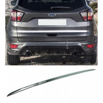 Ford KUGA II FL - CHROME Rear Strip Trunk Tuning Lid 3M Boot
