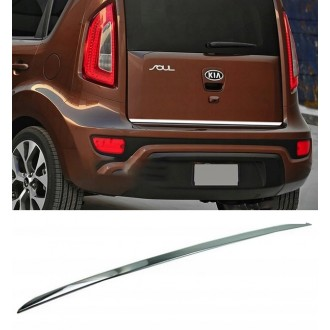 KIA SOUL II - CHROME Rear Strip Trunk Tuning Lid 3M Boot