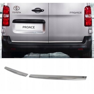 Toyota PROACE - CHROME Rear Strip Trunk Tuning Lid 3M Boot