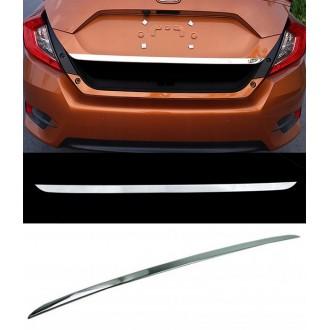 Honda CIVIC - Chrom-Zierleiste Heckleiste 3M Tuning Chromleiste Heckklappe