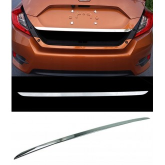 Honda CIVIC - CHROME Rear Strip Trunk Tuning Lid 3M Boot