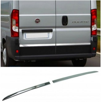 Fiat DUCATO III - CHROME Rear Strip Trunk Tuning Lid 3M Boot