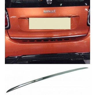 SMART Fortwo Forfour 453 - CHROME Rear Strip Trunk Tuning Lid 3M Boot