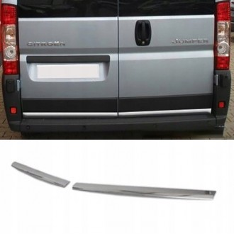 Citroen JUMPER - CHROME Rear Strip Trunk Tuning Lid 3M Boot