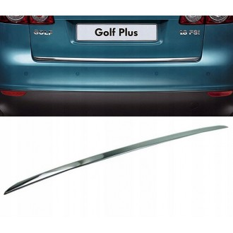 VW Golf PLUS II - CHROME Rear Strip Trunk Tuning Lid 3M Boot