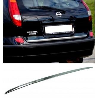 Nissan Almera TINO - CHROME Rear Strip Trunk Tuning Lid...
