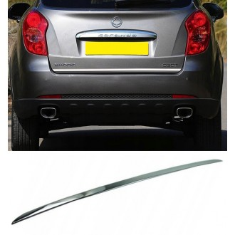 SsangYong KORANDO II - CHROME Rear Strip Trunk Tuning Lid 3M Boot
