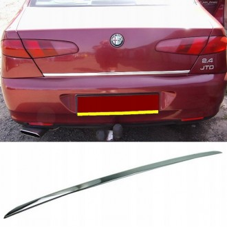 Alfa Romeo 166 - CHROME Rear Strip Trunk Tuning Lid 3M Boot