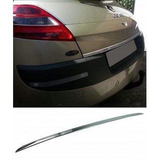 Renault MEGANE II HB - CHROME Rear Strip Trunk Tuning Lid 3M Boot