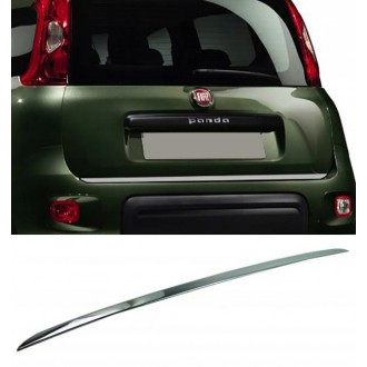 FIAT PANDA II - CHROME Rear Strip Trunk Tuning Lid 3M Boot