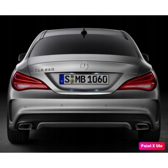 Mercedes CLA S/4 C117 - CHROME Rear Strip Trunk Tuning Lid 3M Boot