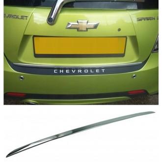 Chevrolet SPARK II M300 09 - Chrom-Zierleiste Heckleiste 3M Tuning Chromleiste Heckklappe