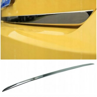 VW SHARAN I - CHROME Rear Strip Trunk Tuning Lid 3M Boot