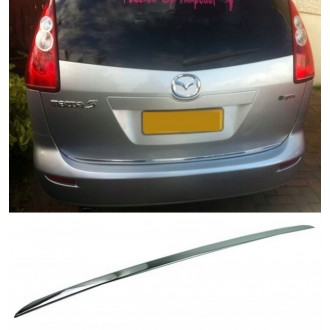MAZDA Premacy II - CHROME Rear Strip Trunk Tuning Lid 3M Boot