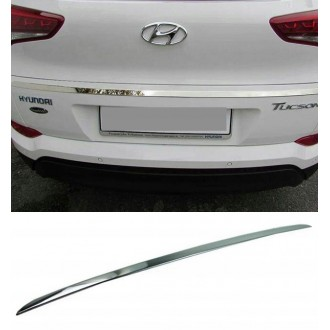 Hyundai TUCSON 2015 - CHROME Rear Strip Trunk Tuning Lid 3M Boot