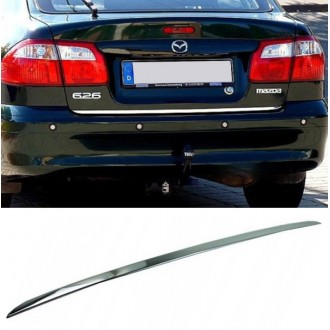 MAZDA 626 Sedan - CHROME Rear Strip Trunk Tuning Lid 3M Boot