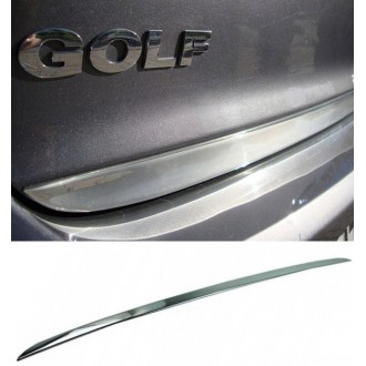 VW GOLF 3 III HB - CHROME Rear Strip Trunk Tuning Lid 3M Boot