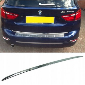 BMW 2 F45 Active T - CHROME Rear Strip Trunk Tuning Lid 3M Boot
