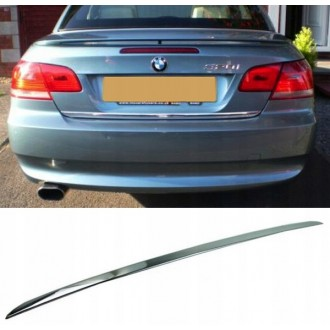 BMW 3 E92 E93 - CHROME Rear Strip Trunk Tuning Lid 3M Boot