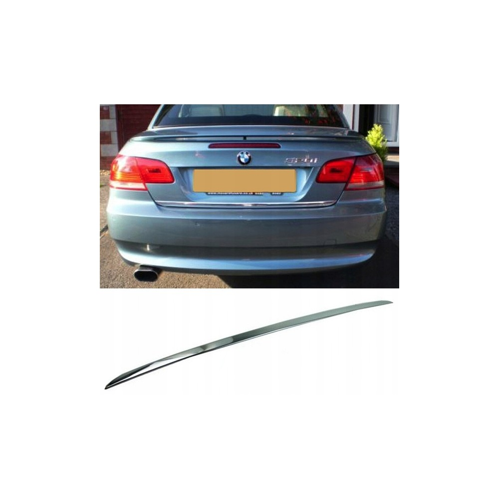 BMW 3 E92 E93 - CHROME Rear Strip Trunk Tuning Lid 3M Boot