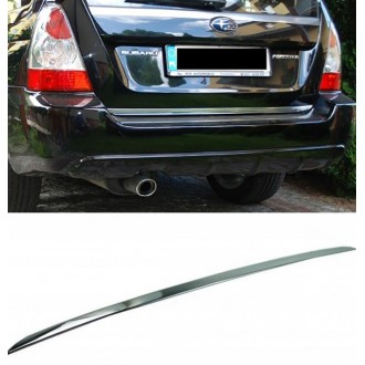 SUBARU Forester II SG 02-08 - CHROME Rear Strip Trunk Tuning Lid 3M Boot