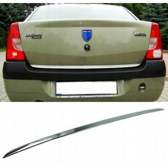 Dacia LOGAN I LS - Chrom-Zierleiste Heckleiste 3M Tuning Chromleiste Heckklappe
