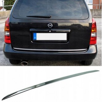 Opel ASTRA MK IV G Kombi - Chrom-Zierleiste Heckleiste 3M Tuning Chromleiste Heckklappe