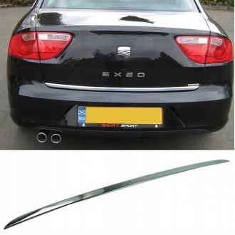 SEAT EXEO Sedan - CHROME Rear Strip Trunk Tuning Lid 3M Boot